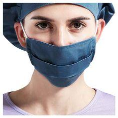 NINGNETI Antipolvo 5 Capas Transpirables Faciales visera con Carb/ón Activado Filtro Protector Faciales al aire libre Reutilizable y Lavable NKZ-0428A120 Pack 1 unidades 6 unidades Filtro