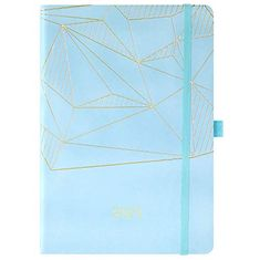Jan Hardcover with Back Pocket 21.5 x 15.5 cm 2021 Blue Gilding - Dec Weekly /& Monthly Planner with Tabs 2021 Planner Twin-Wire Binding