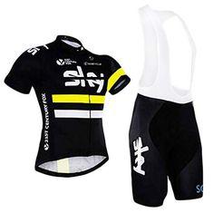 ZCFXJiTuanYZ Ropa de Ciclismo para Exteriores Camiseta de Manga Corta Pantalones Cortos Transpirables y de Secado r/ápido en Primavera y Verano