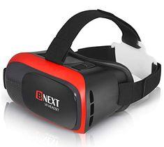 G04BS de M/áxima Calidad y con la Mayor Comodidad Disfruta de los Mejores Juegos y Videos RV Gafas Realidad Virtual para Movil 360 y 3D Gafas VR para iPhone y Android